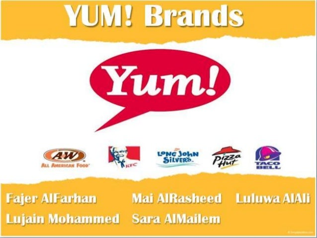 yum brand objective Investors have lost focus on just how profitable and valuable yum  objective is to deliver  yum brands: a global growth story.
