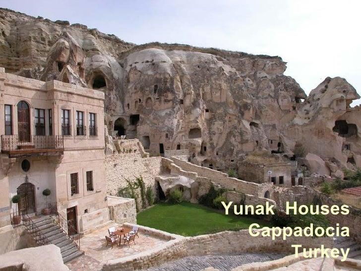 Yunak  Houses Cappadocia Turkey