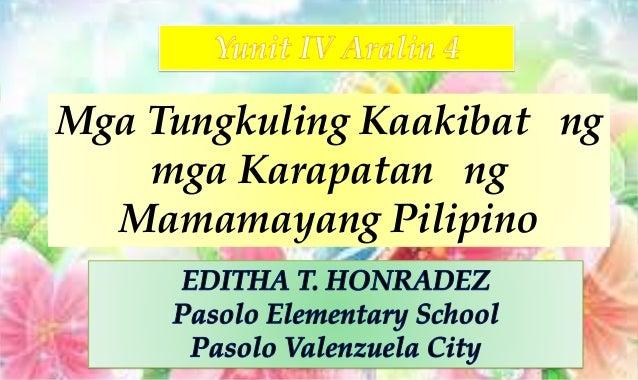 Mga Tungkuling Kaakibat ng mga Karapatan ng Mamamayang Pilipino