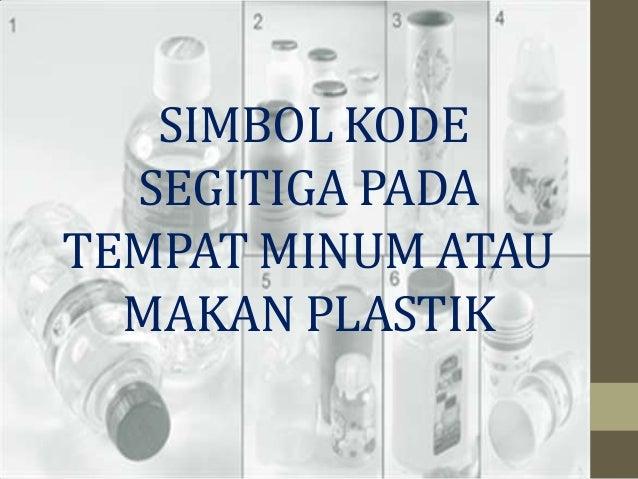 Jenis Plastik No 1 4