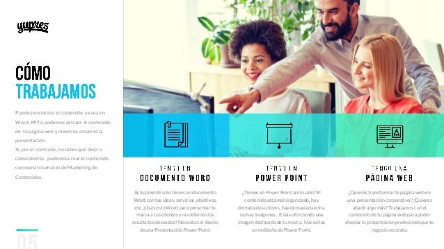Presentaciones power point para empresas visualone.