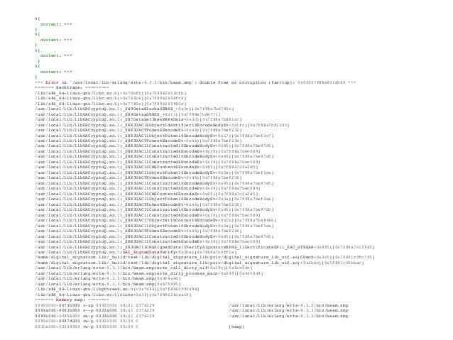 Problem 1 solution: Gen Server ... use GenServer # Callbacks ... def handle_call({:process_signed_content, signed_content,...