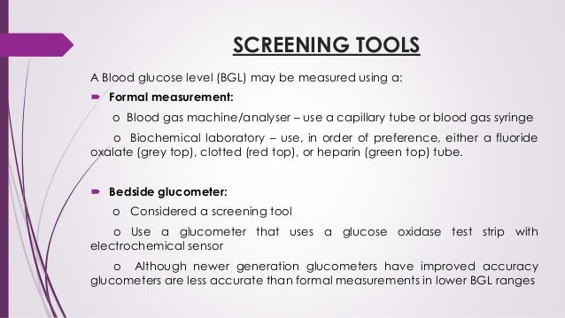 Yusuf transient persistent hypoglycemia in neonates screening tools a blood glucose sciox Gallery