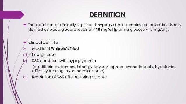 Low Blood Sugar Symptoms and Ranges