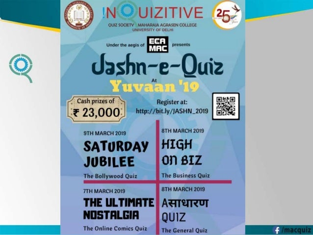 Asadharan Quiz - The General Quiz Finals 2019 by Inquizitive