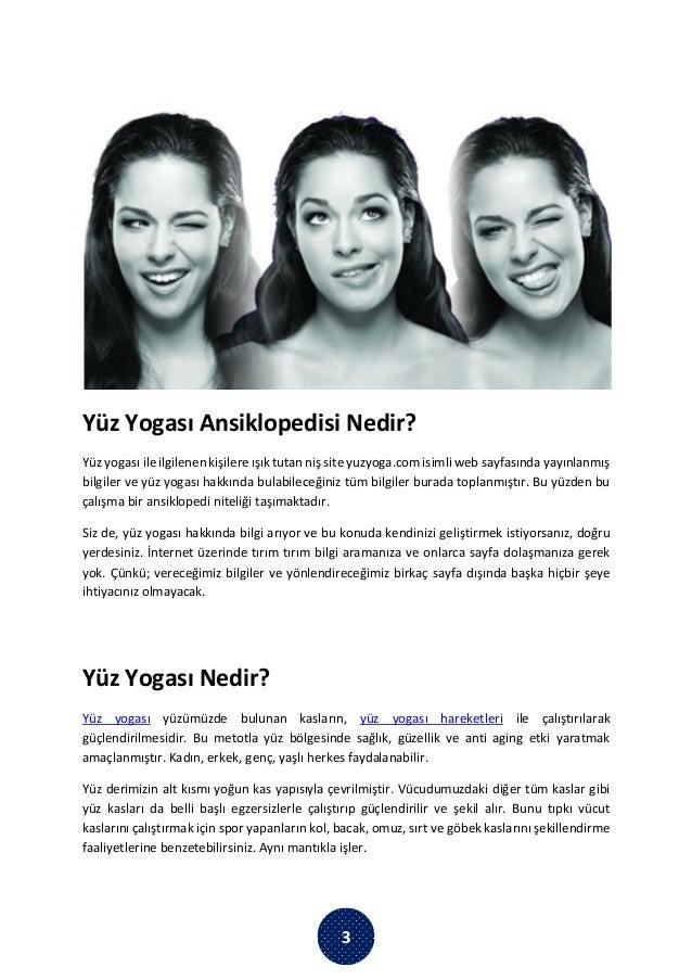 Yüz Yogası Kitabı İndir – Yüz Yogası Ansiklopedisi  Slide 3