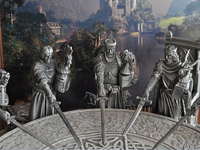 Yvain et le chevalier au lion - Lancelot chevalier de la table ronde ...