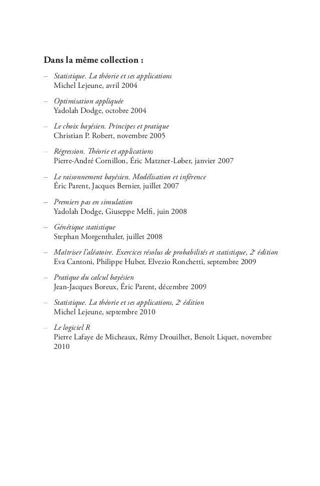 Maîtriser l'aléatoire. Exercices résolus de probabilités et statistique 2e édition - Eva Cantoni,Philippe Huber,Elvezio Ronchetti