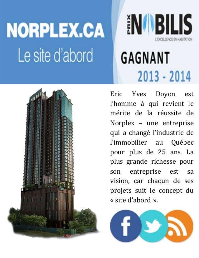 Yves Doyon en bref Slide 2