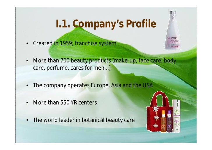 Free marketing plan sample of Yves Rocher body care health products – Samples of Business Profiles