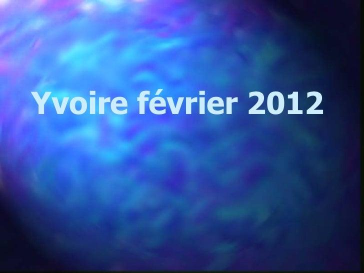 Yvoire février 2012