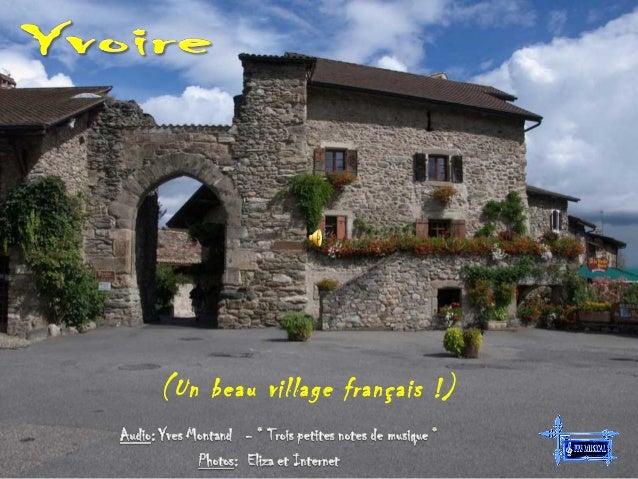 (Un beau village français !)