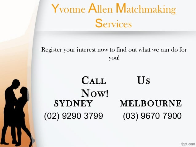 matchmaking services melbourne