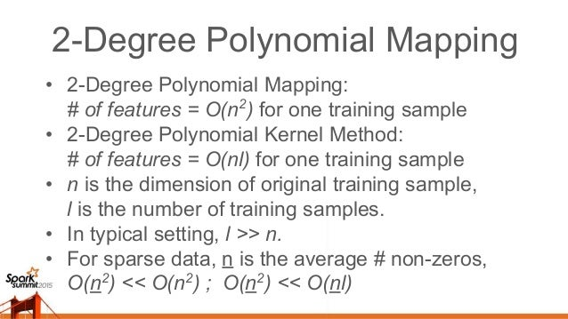 Kernel Methods vs Polynomial Mapping