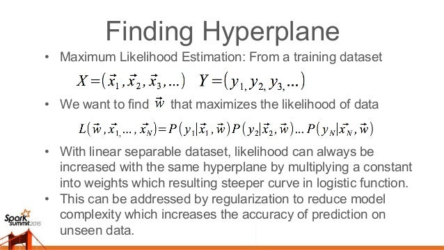Training Logistic Regression • Converting the product to summation by taking the natural logarithm of likelihood will be m...