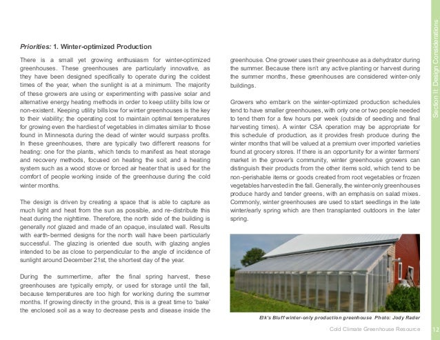 SectionII:DesignConsiderations Greenhouses constructed, built, and maintained for the purpose of education are a growing t...
