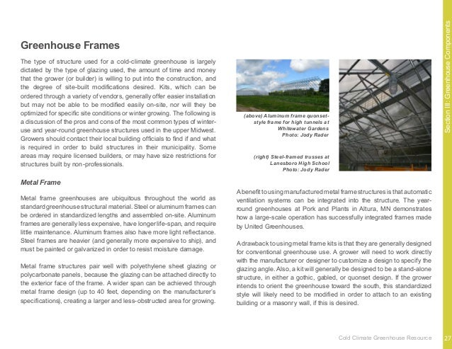 SectionIII:GreenhouseComponents There are four numbers that may be found associated with greenhouse glazing materials; it ...