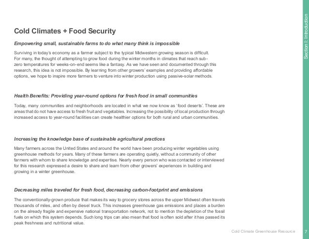 SectionI:Introduction It was obvious that interviews and regional farm visits would yield answers to these questions. Over...