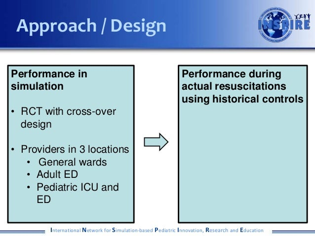International Network for Simulation-based Pediatric Innovation, Research and Education Approach / Design Performance in s...