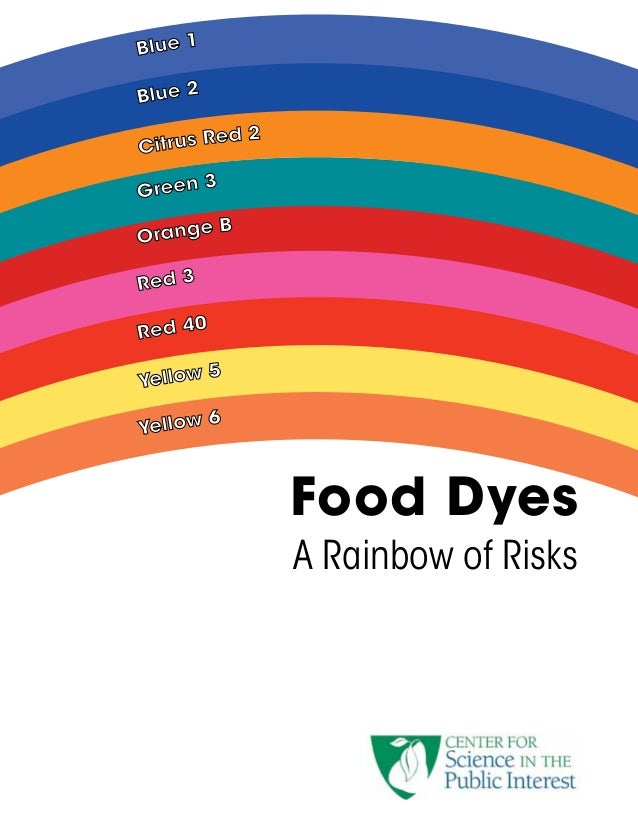 Effects Of Food Coloring On Human Health