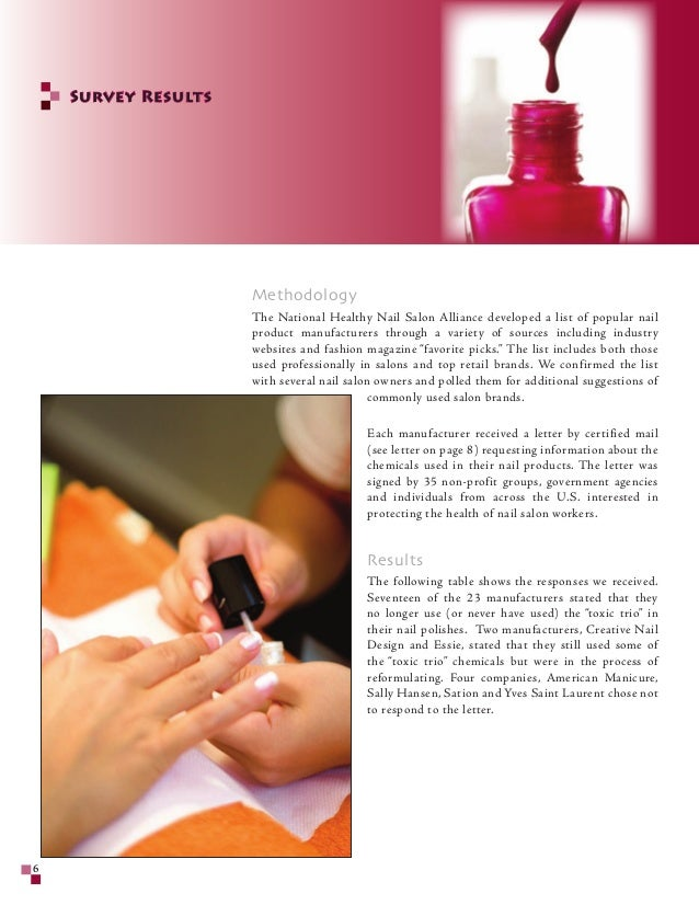 List Of Toxic Nail Polish Brands - Creative Touch