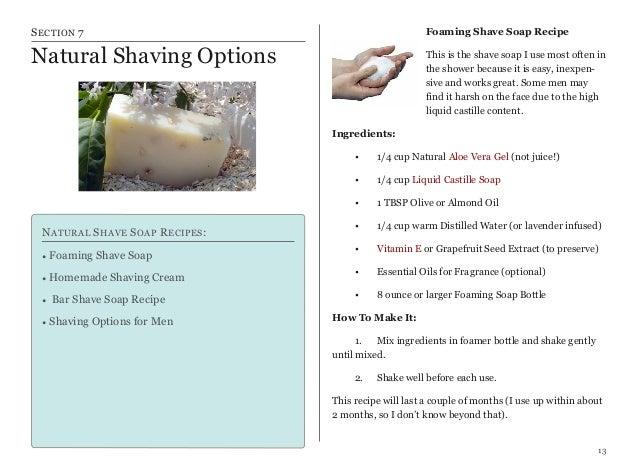 Natural Body Soap Alternatives
