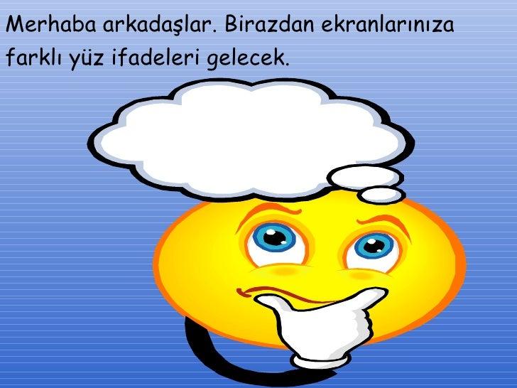 Yuz Ifadeleri