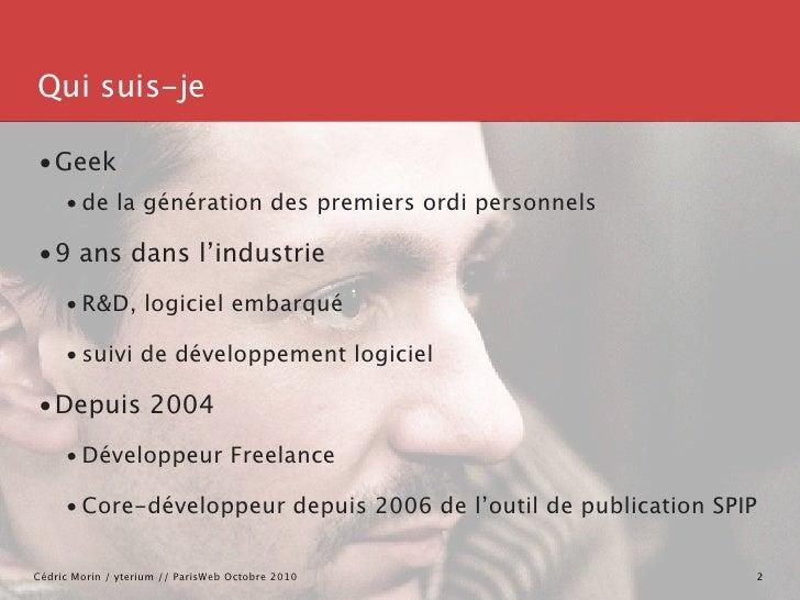 un Framework HTML est-il-possible ? Slide 2