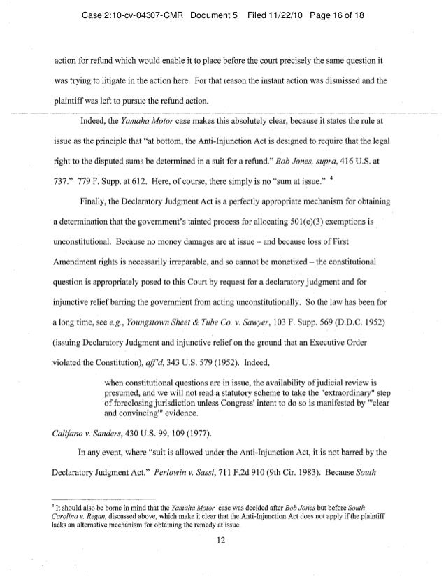 Case 2:10-cv-04307-CMR Document 5 Filed 11/22/10 Page 16 of 18
