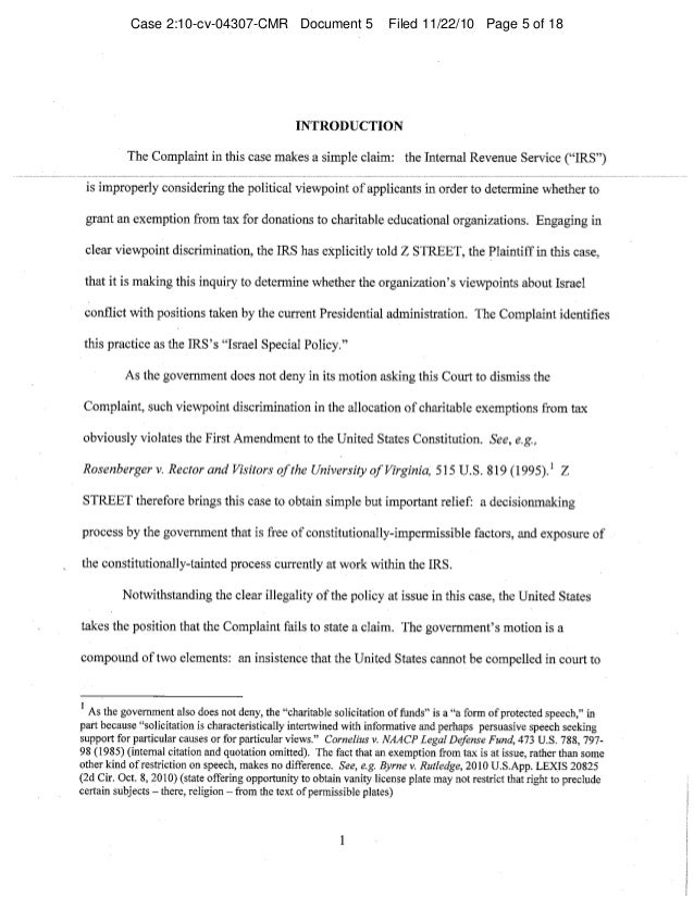 Case 2:10-cv-04307-CMR Document 5 Filed 11/22/10 Page 5 of 18