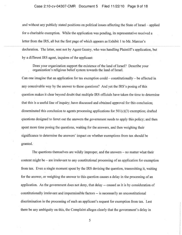 Case 2:10-cv-04307-CMR Document 5 Filed 11/22/10 Page 9 of 18