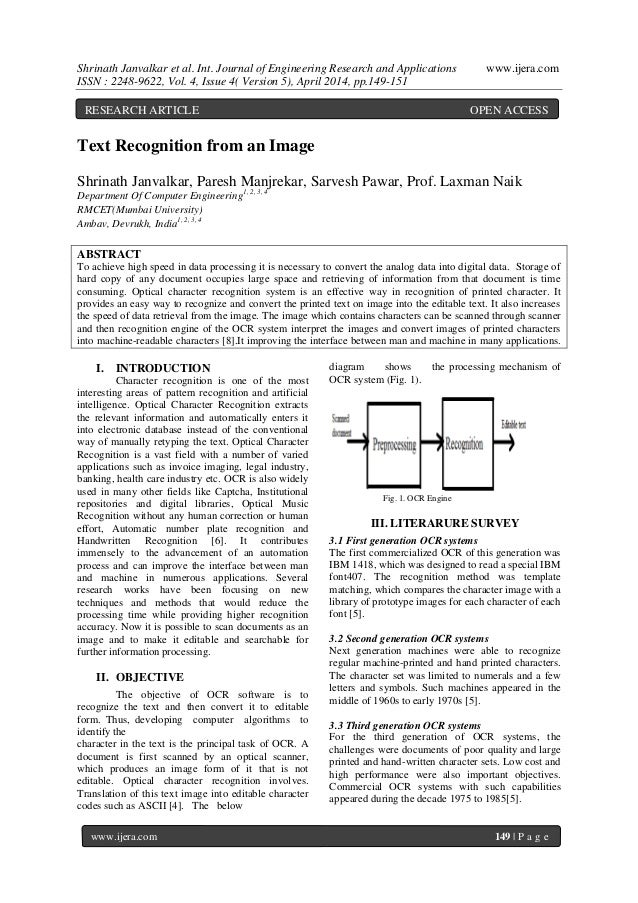 Shrinath Janvalkar et al. Int. Journal of Engineering Research and Applications www.ijera.com ISSN : 2248-9622, Vol. 4, Is...