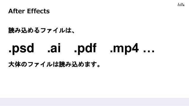 After Effectsを使ったGIFアニメ