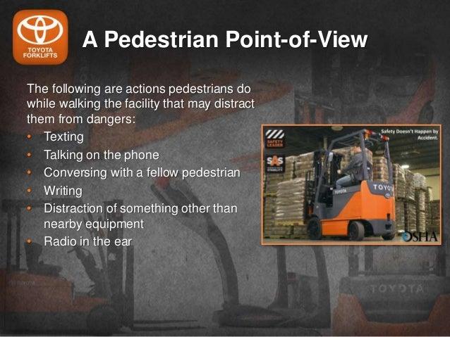 How Forklift Blue Safety Lights Improves Pedestrian Safety