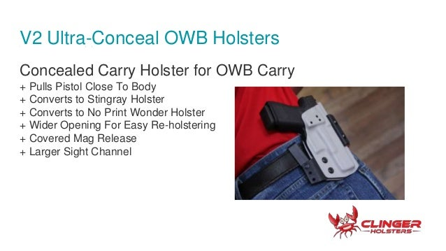 Clinger Holsters, Concealed Carry Holsters