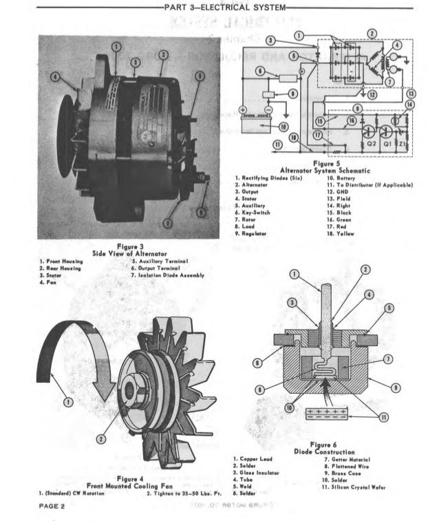 1966 ford 4000 tractor service repair manual  wiring diagram ford 4000 tractor 1966 #12