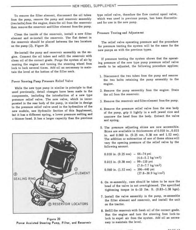 1967 ford 3000 tractor service repair manual