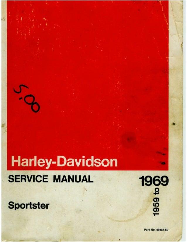 Harley Davidson Sportster 1968 Manual Guide