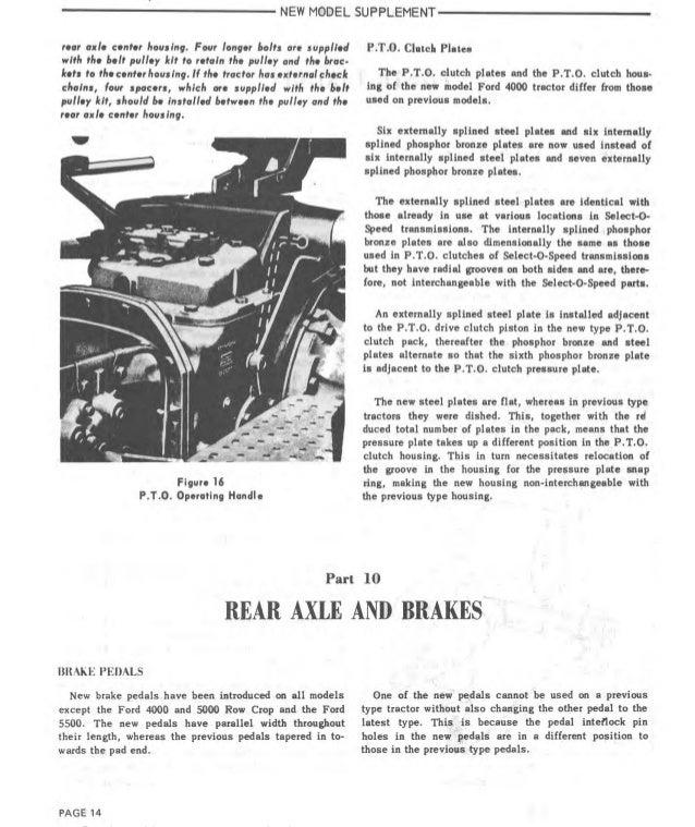 1973 Ford 3500 Tractor Service Repair Manual
