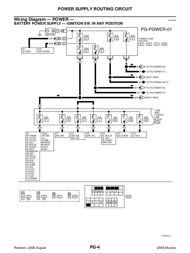 2006 nissan murano service repair manual