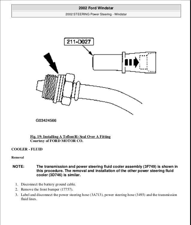 2003 Ford Windstar Wiring Diagram Pdf. . Wiring Diagram  Ford Windstar Wiring Diagrams on