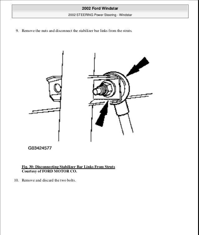 2003 FORD WINDSTAR Service Repair Manual