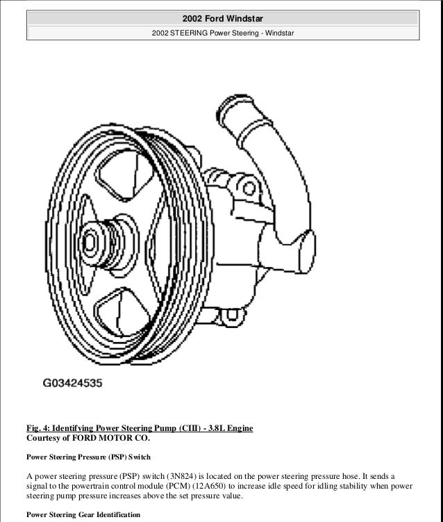 2003 ford windstar repair manual