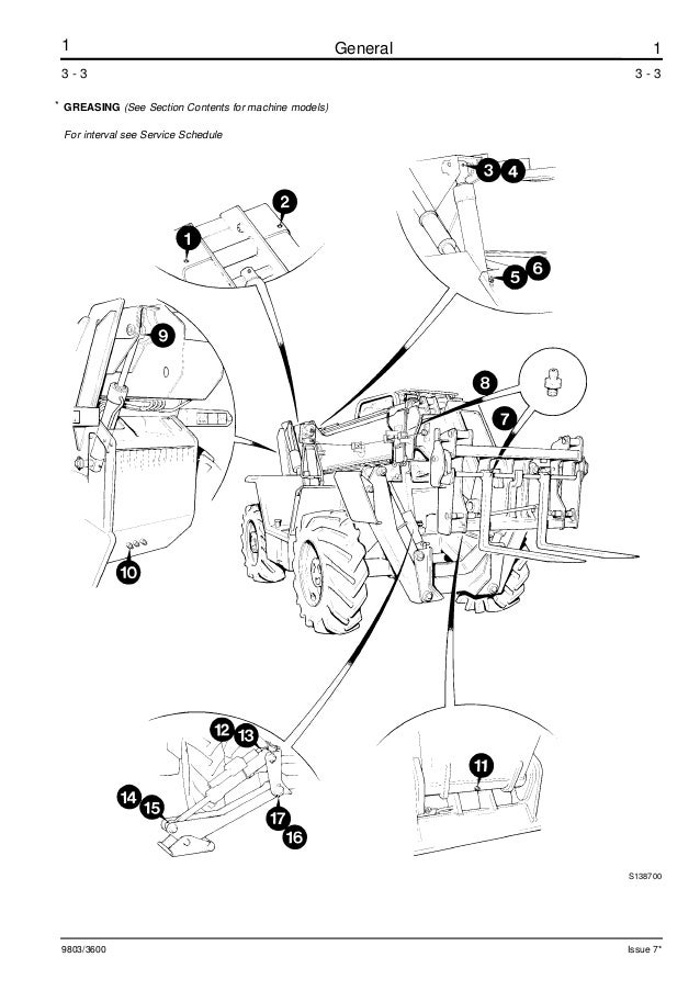 JCB 525-67 TELESCOPIC HANDLER Service Repair Manual ALL