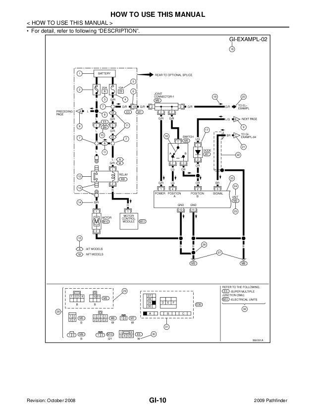 2009 Nissan Pathfinder Service Repair Manual