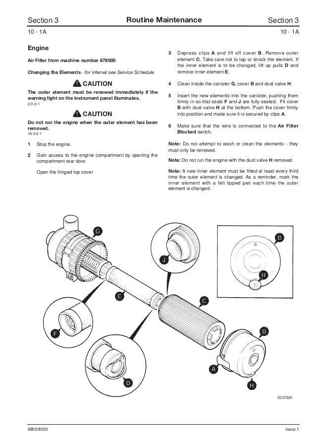 jcb 165 165hf robot service repair manual sn678000 onwards rh slideshare net JCB Backhoes Part Lists JCB Backhoes Part Lists