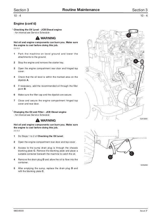 JCB 165, 165HF ROBOT Service Repair Manual SN678000 Onwards Jcb Wiring Diagram on