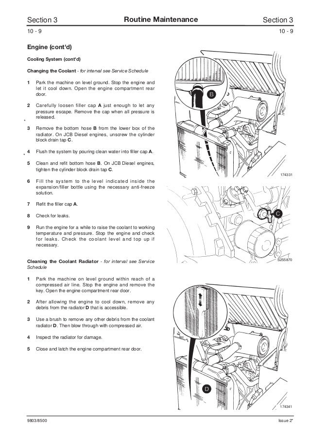JCB 165, 165HF ROBOT Service Repair Manual SN678000 Onwards