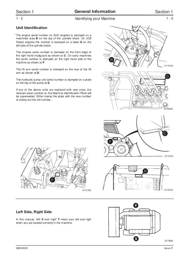 Jcb Backhoe Wiring Diagram - Wiring Diagram G11 on