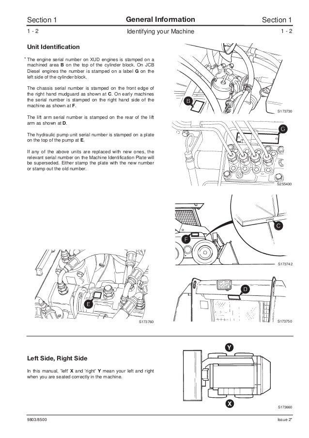 jcb 165 165hf robot service repair manual sn678000 onwards rh slideshare net JCB 520 Parts JCB Parts Catalog